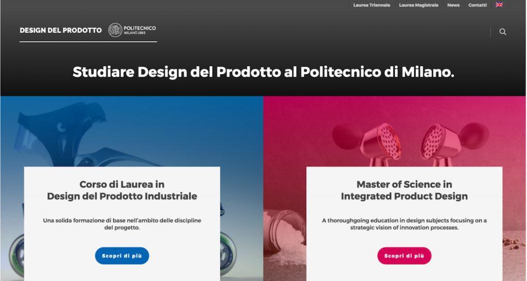 sito design polimi